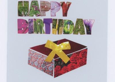 happy birthday box KC1041