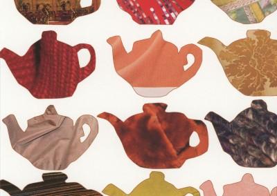 teapots on white KC1026