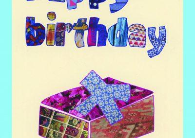 birthday boxblue KC1047