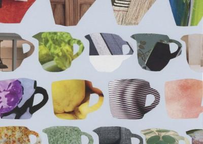 jugs cups on grey KC1032