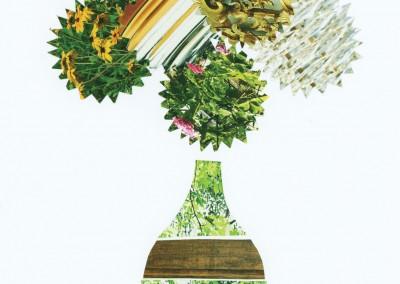 vase in green KC1014